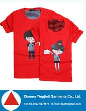 High Quality Promotion Women Casual Fashion Tshirt Printing 2013