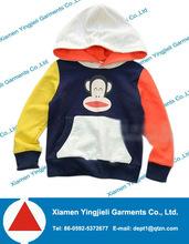 cartoon pullover hoody baby clothes 2014