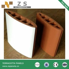 Latest high quality of exterior wall terracotta tube terracotta panels