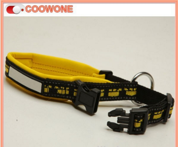 Special Design Neoprene Pad Nylon Dog Collar and Leash