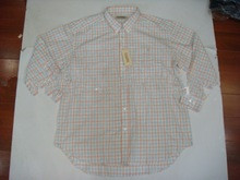 men's shirt(stock shirt,men's shirt,stock garment)