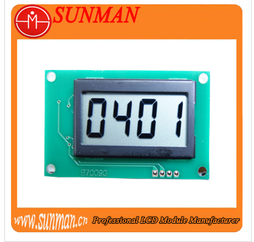 7 lcd panel use in instrument ,meter