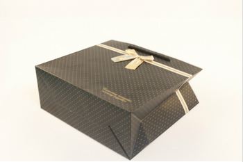 2015 High Quality Exquisite Christmas Gift Paper Bags