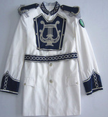 white military ceremonial uniform