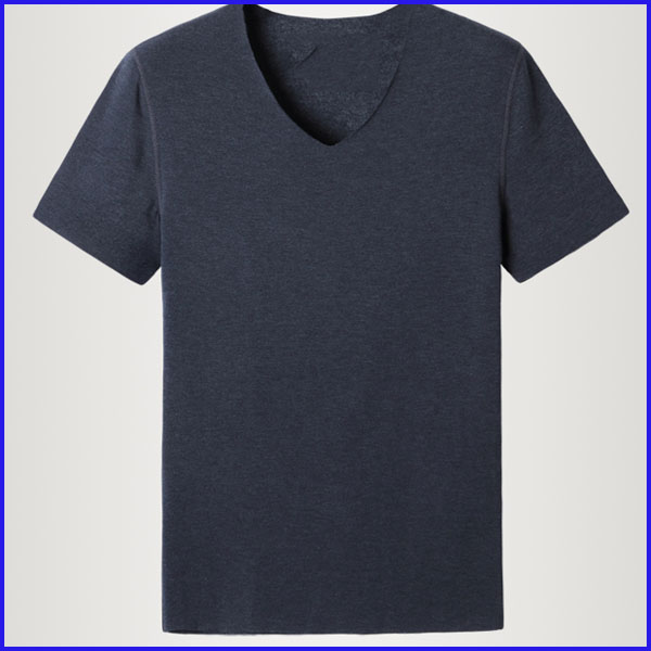60% cotton 40% polyester t-shirts high quality bulk blank v neck wholesale t shirts