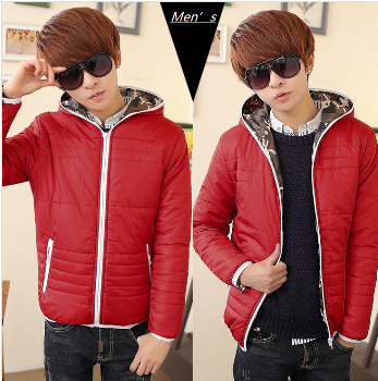 The New Winter Coat Jacket Mens Cotton cotton men's men