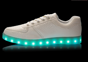 unisex fashion led flashing sole shoes