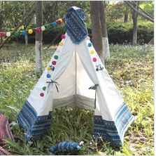 Blue/Red teepee children tent kids playhouse play tent for kids