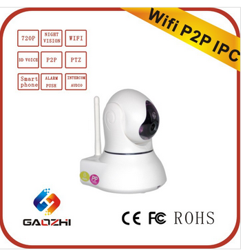 Full 720P Real-time Monitoring System Ip Camera Hd Wifi Family Security Products