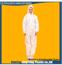 Disposable Nonwoven Medical Microporous Protective Coverall