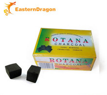 cubic Rotana hookah charcoal, cubic bamboo hookah charcoal, the most popular cubic shisha charcoal