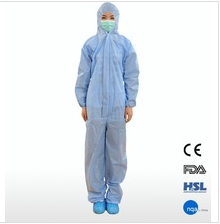 Disposable non-woven microporous clothing good coveralls medical overall