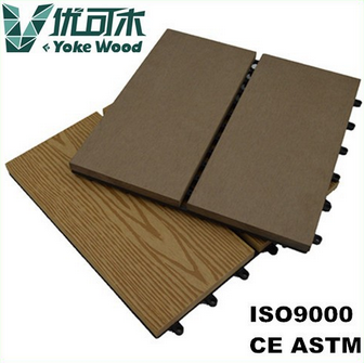 Water proof DIY Composite Wood Decking Board
