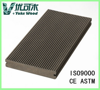 Durable Antiskid Wood Plastic Composite Stairs