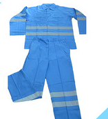 100 cotton light blue work clothing
