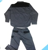 warm thick color matched separated coveralls for men workwear