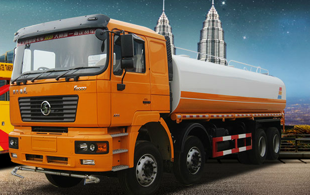 SHACMAN ao'long 4X2 15000L oil tanker truck with oil pump hot sale in China