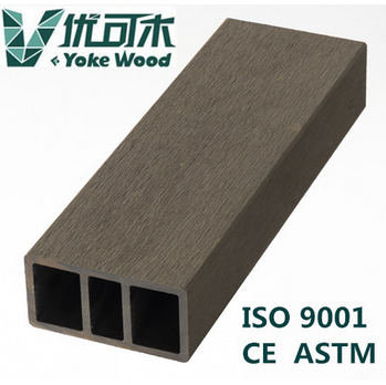 Hollow WPC decking board