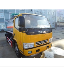 DFAC small fuel tanker truck capacity 5m3 with best price for sale 008615826750255 (Whatsapp)