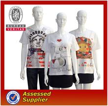 2014 new fashion unisex tshirt printing