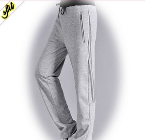 Men Custom Jogger Pants With Contrast Rib