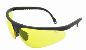 matt black frame night vision lens safety goggle