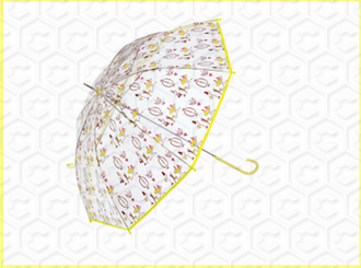 Promotional Popular Transparent Clear Dome Umbrella
