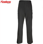 100%Cotton Twill Fabric European Size Mens Cargo Pants With Side Pockets