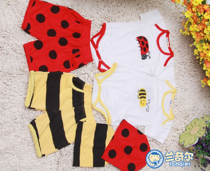 baby cotton kits with wholesale price baby boy short sleeve clothes
