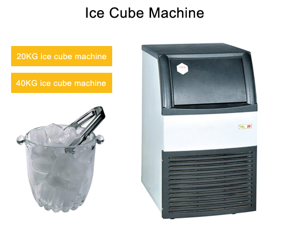 40KG/h Imported compressor cube ice maker ice maker ice machine with OEM service available made in china manufacturer
