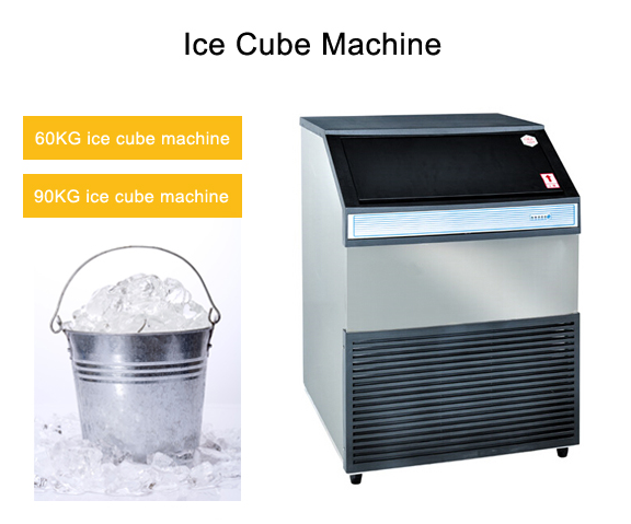 90KG Commercial Ice Maker Ice Maker Machine Ice Cube Maker Ice Making Machine Ice Cube Making Machine for Sale