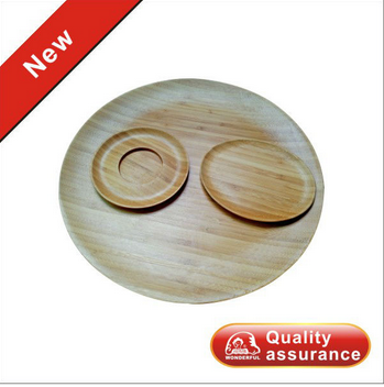 New Bamboo  Cup Coaster a set of 3