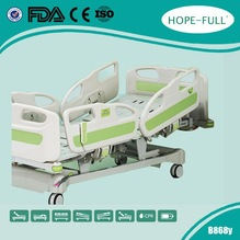 CE FDA ISO13485 Five functions medical bed electric hospital bed