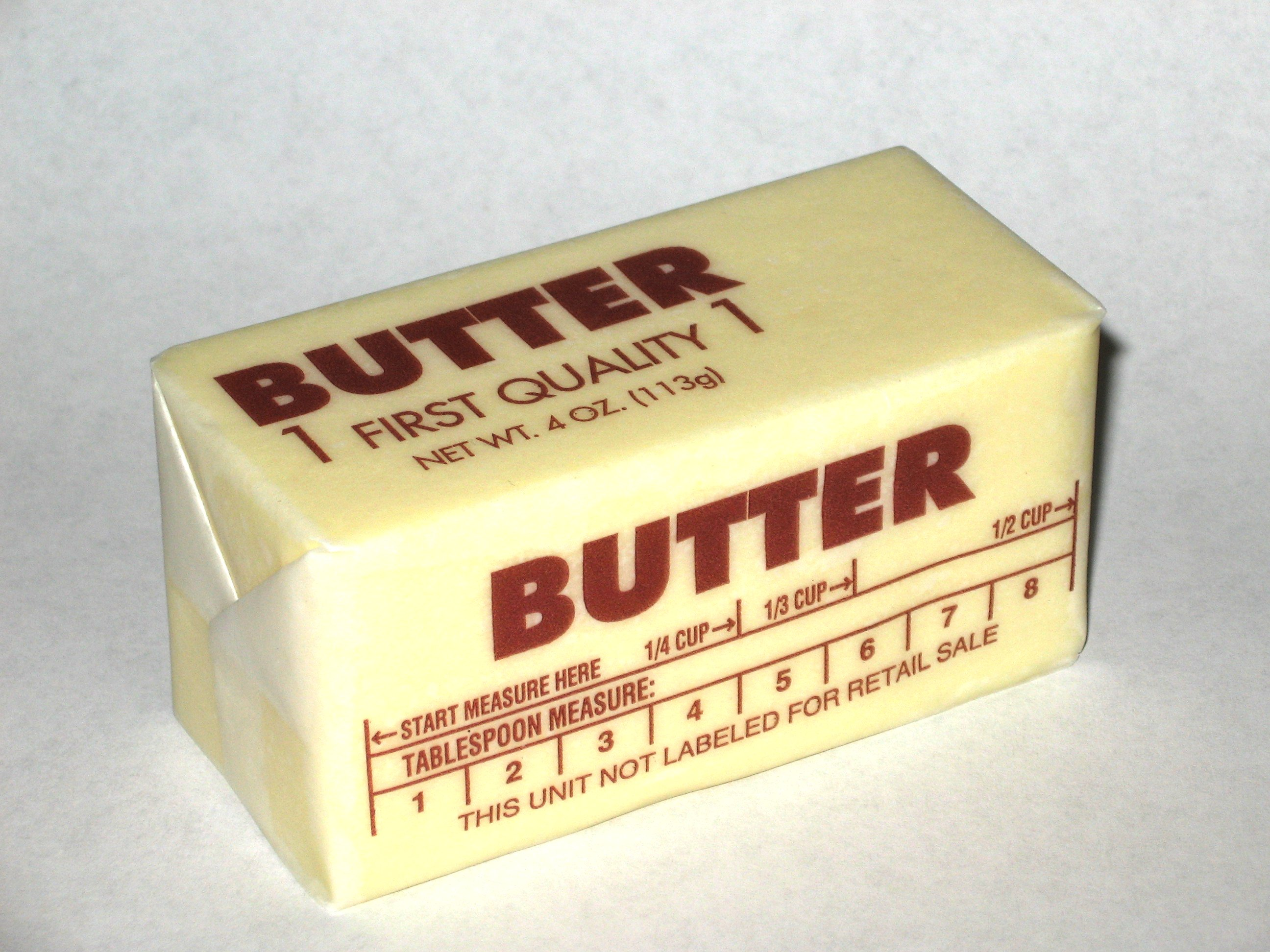 The Butter Wrapper Paper