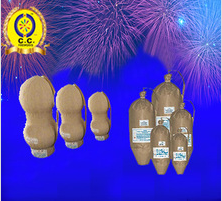 high quality 2.5 3 4 5 6 inch DOUBLE salute Display shell fireworks for wholesale