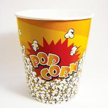 Take away custom logo pe coated cinema popcorn tub