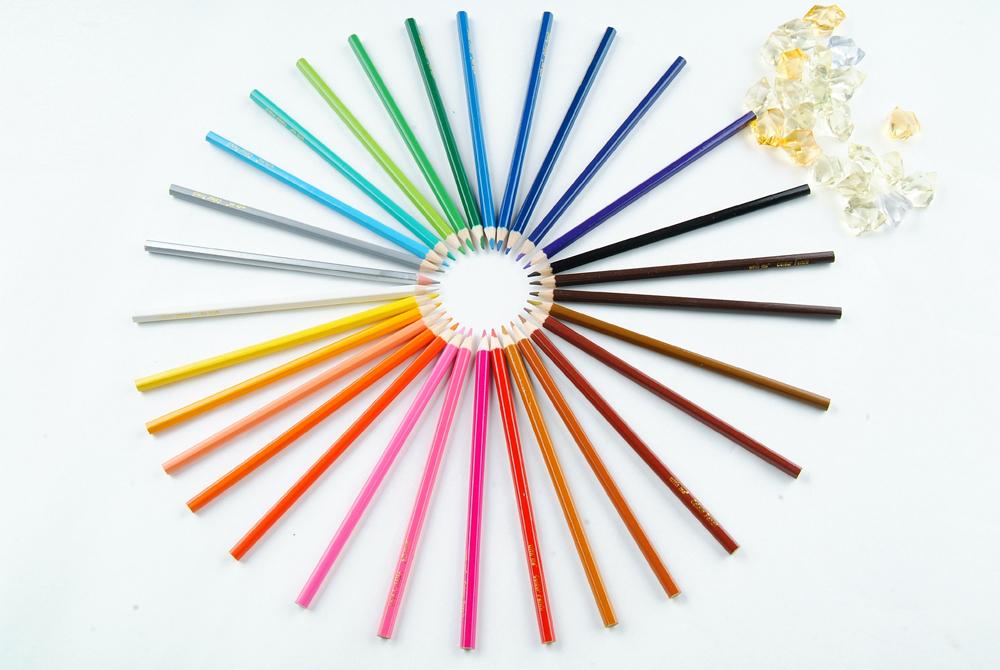 wooden color pencils, color pencil sets