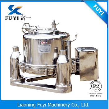 Under automatic unloading flat scraper centrifuge