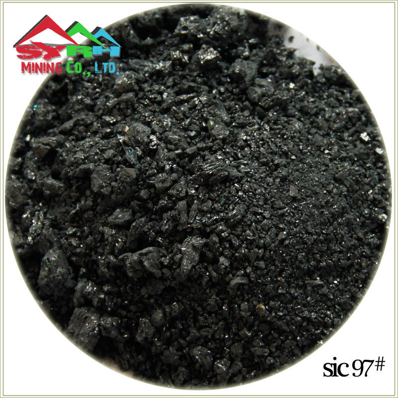 97percent black silicon carbide SIC