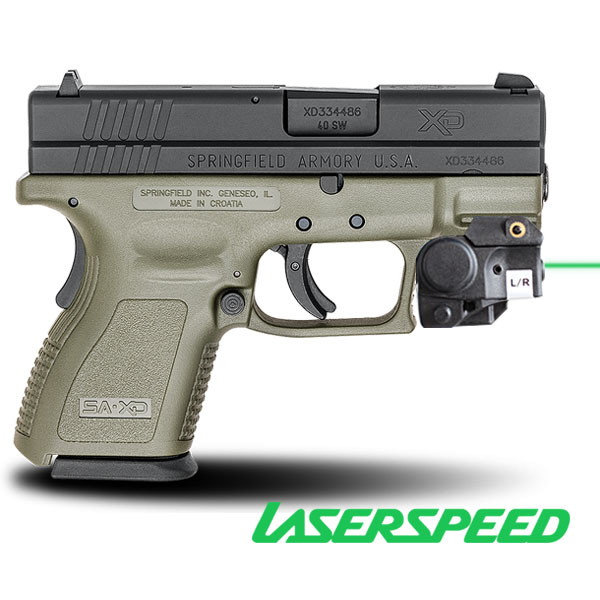 Springfield xdm 9mm Laser Sight