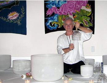 Chakra Quartz Crystal Bowl