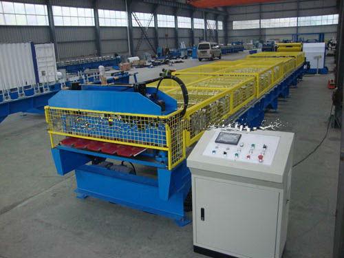 Changsheng Sheet Metal Roll Forming Machine