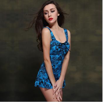 2015 one-piece swimwear slim sexy girls swim skirt