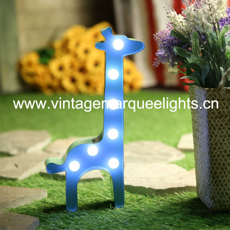 direct manufacturer of fairground distressed letter light