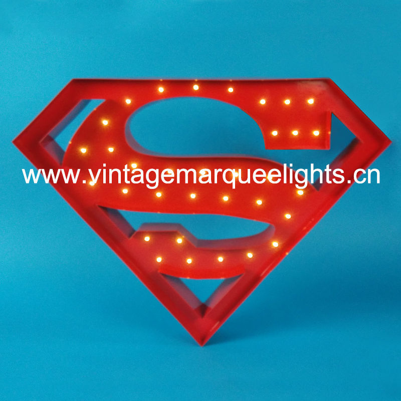 direct manufacturer of fairground distressed letter light