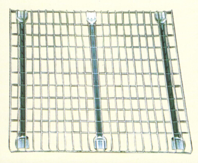 wire mesh decking for pallet rack