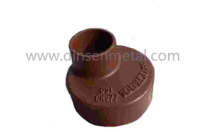 cast iron pipe joint fitting reducer
