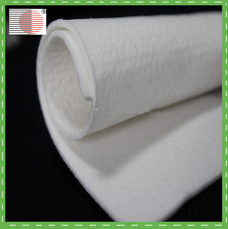 Hot selling pet nonwoven polyester needle punched filter felt