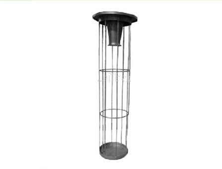 Filter cage for dust filter bag