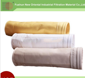 100percent Aramid dust filter bag/Aramid filter bag with PTFE membrane